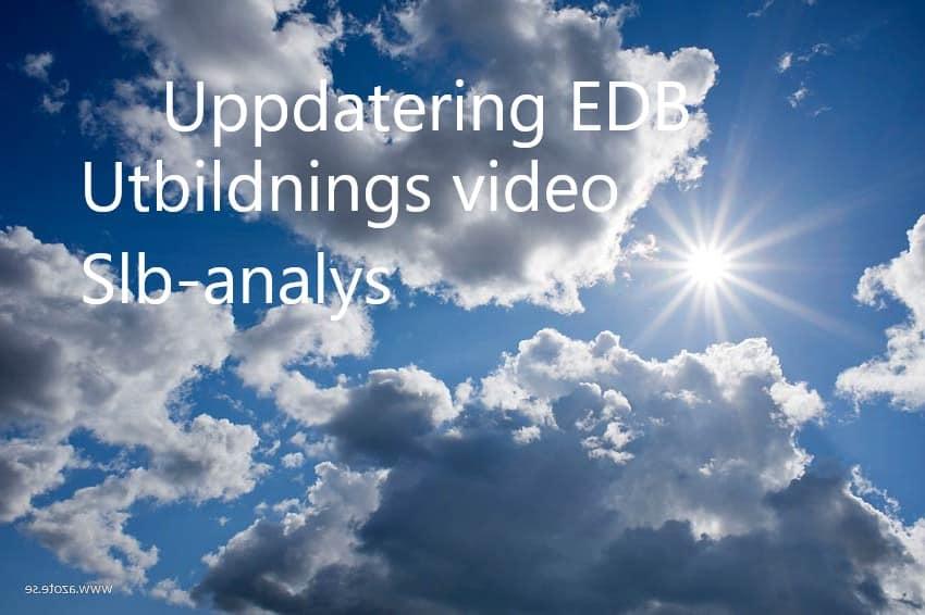 EDB uppdatering thumbnail.